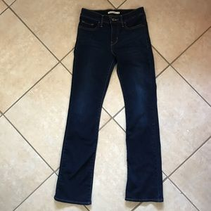 Levi's Dark Blue 315 Shaper Jeans